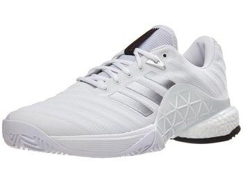 52b78a4e adidas Barricade 2018 Boost White/Silver Men's Shoes