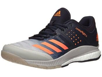 adidas Crazyflight X Men s Shoes - Orange Grey 43c5cfd75