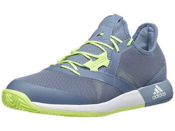 official photos ce480 8395b adidas adizero Defiant Bounce GreyYellow Mens Shoes