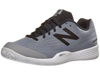 pretty nice e1750 c48b0 ... New Balance MC 896v2 2E Grey Black Men s Shoes ...