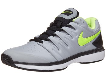 Nike Air Zoom Prestige Leather Grey Volt Men s Shoe 25831da1d