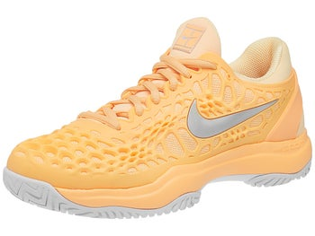 23cb9542aeb68c Nike Air Zoom Cage 3 Peach Silver Women s Shoe