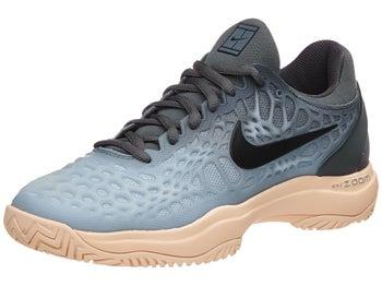 e061c5def1218 Nike Zoom Cage 3 Grey Orange Women s Shoe